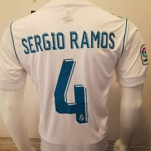 Other - SERGIO RAMOS HOME REAL MADRID FAN JERSEY 2017/2018